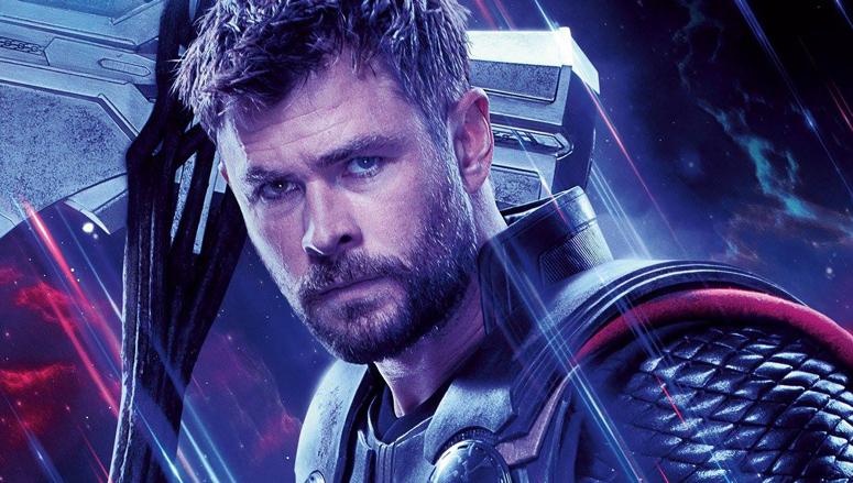 Thor promotional image for Avengers: Endgame