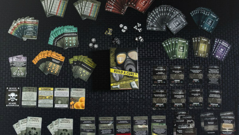 Build A Cure Standard Edition Contents